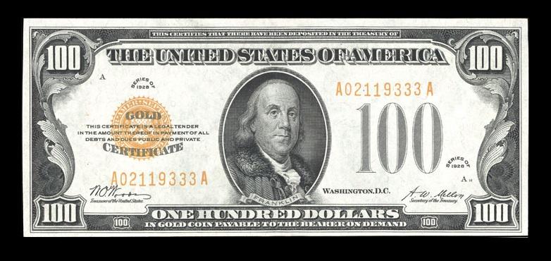 $100-Bill-1928Gold