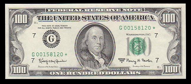 $100-Bill-1963