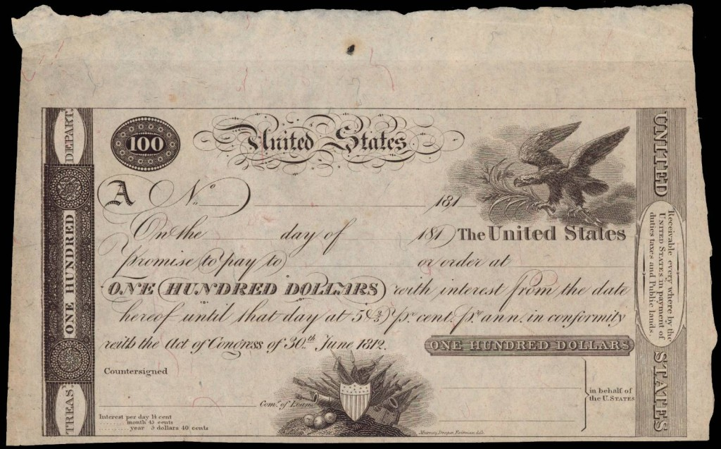 1812_U.S._Treasury_Note