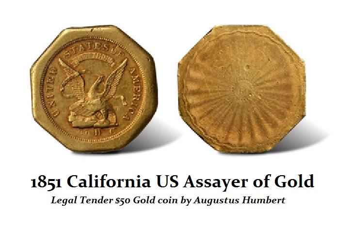 1851 Calif $50