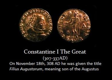 Constantine I - Filius Augustorium