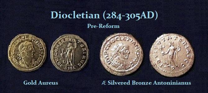 Diocletian Pre-Reform Denominations