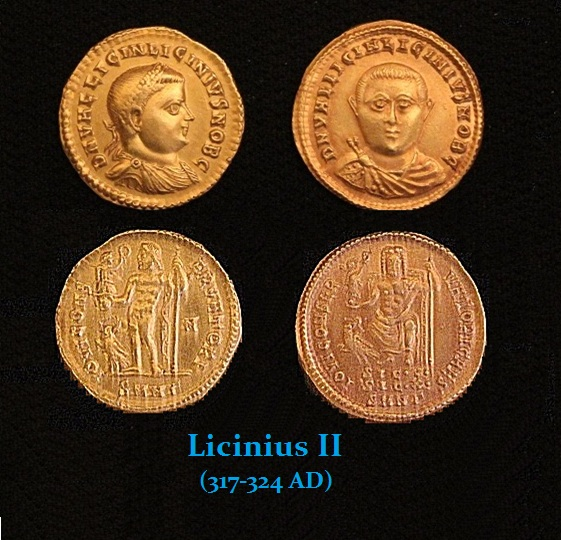 Licinius-II AU Denominations
