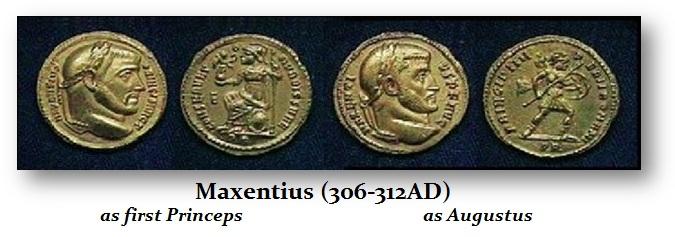 Maxentius - AU Princeps & Avg