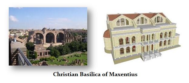 Maxentius-Basilica