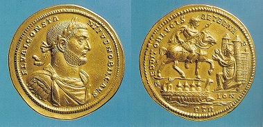 Image result for Constantius I gold medallion
