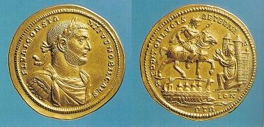 Image result for Constantius I gold medallion