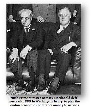 1933 FDR-Macdonald Lond Conf