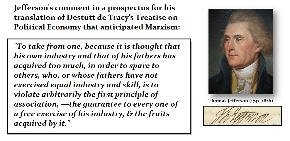 Jefferson - on Marxism