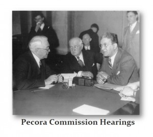 Pecora Commission Hearings