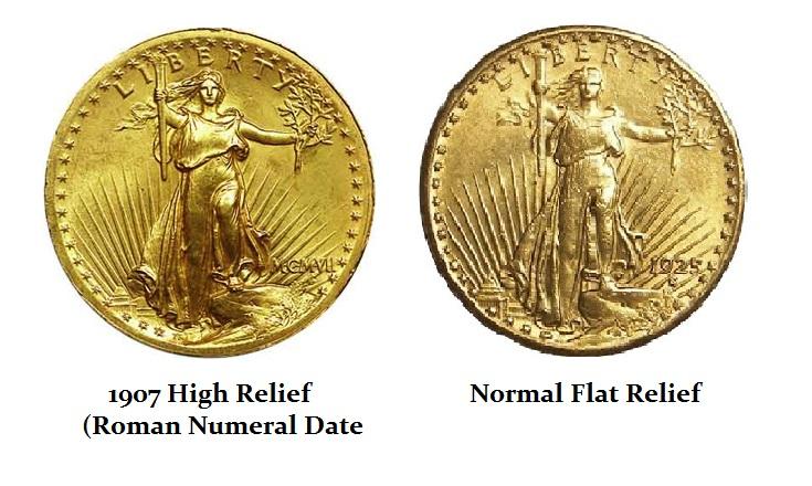 1907 $20 Coins
