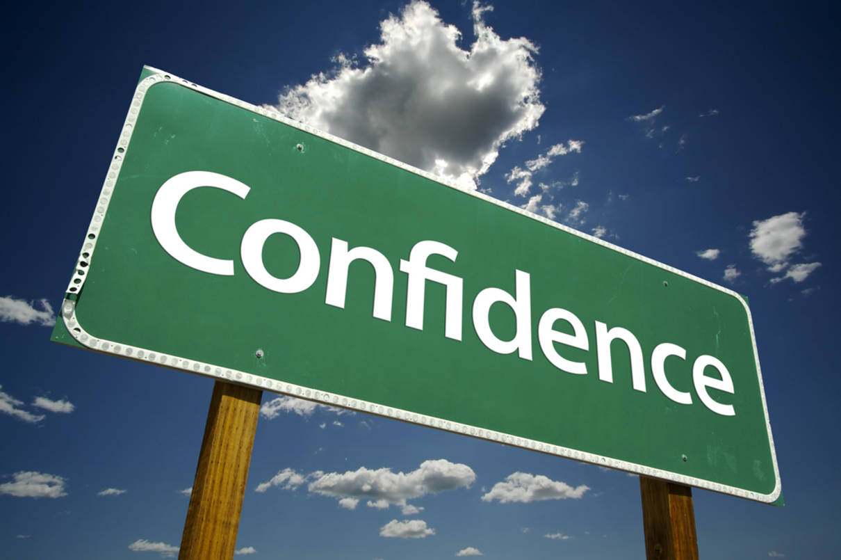 confidence-road-sign