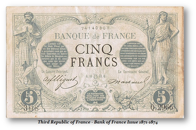 France 1871-1874 Issue