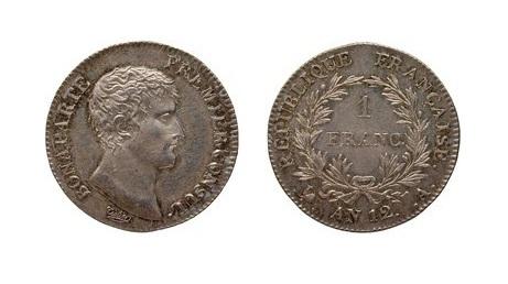 Napoleon Consul 1803 1fr