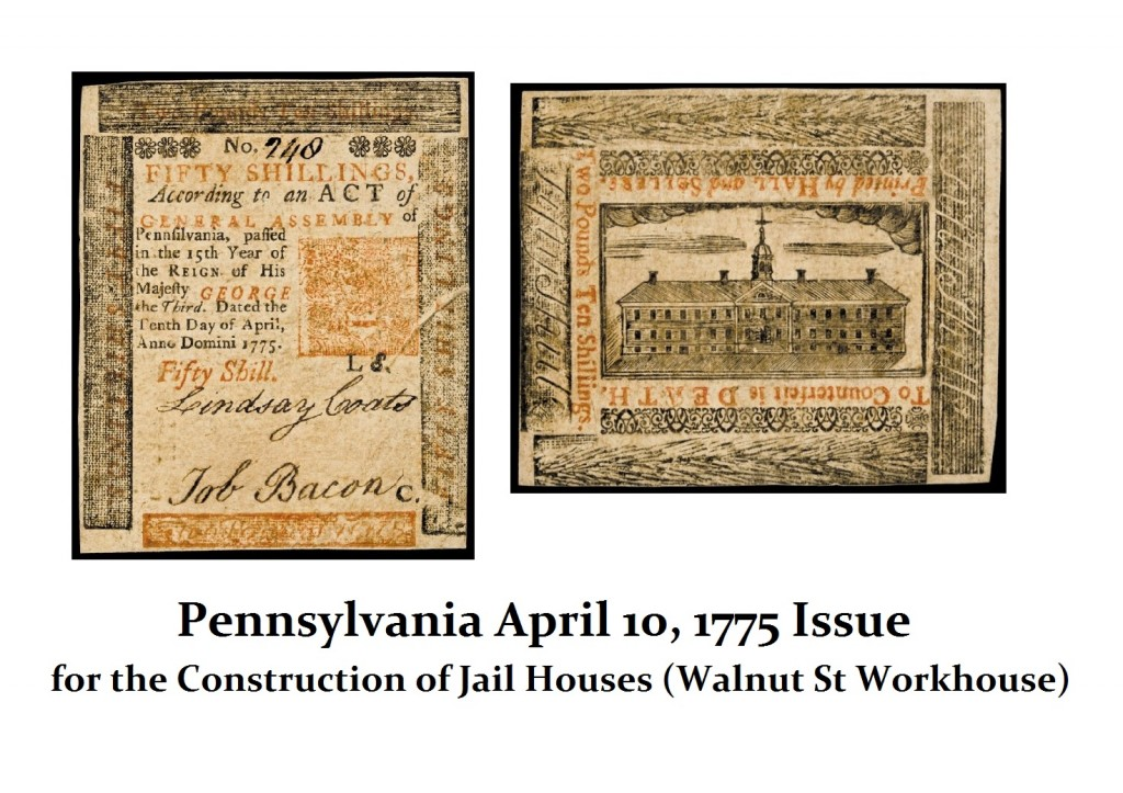 PA 1775 Jail House Issue