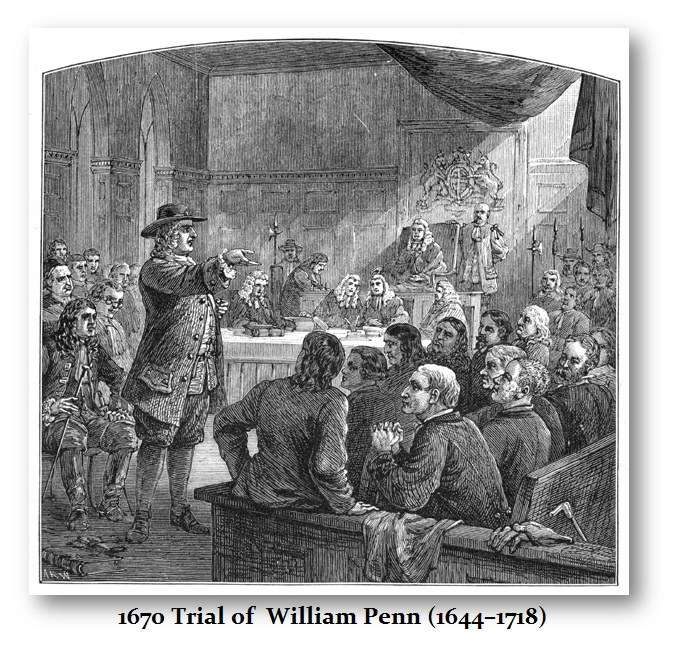 Trial of William Penn