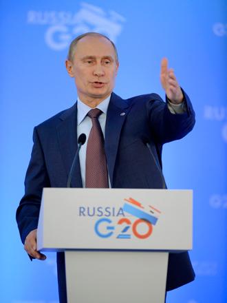 Putin G20 2013 Russia