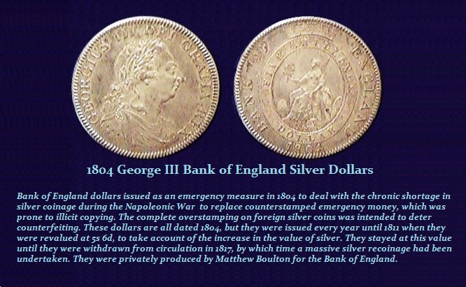 1804 BOE Dollars