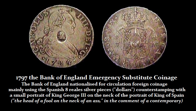 George III Emergency 8Reales