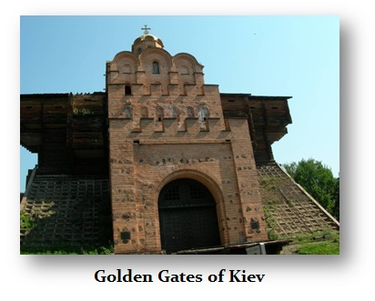 Kiev Golden Gate - r