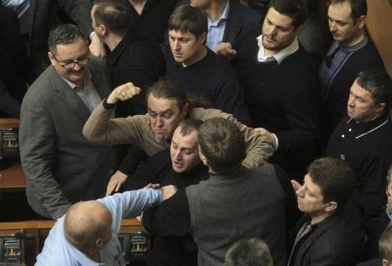 Ukrainian-Parliament 2-20-2014