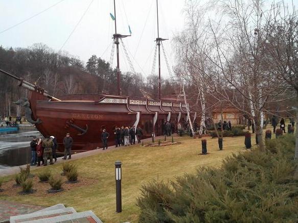 Viktor Yanukovych Boat
