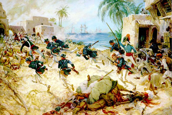 """""""Attack on Derna"""""""
