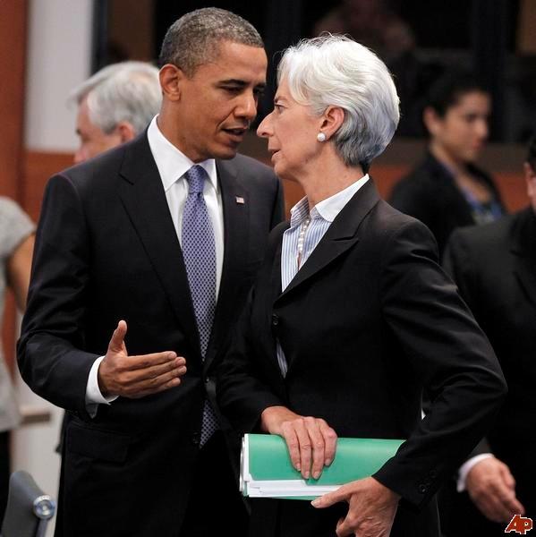 Lagarde - Obama