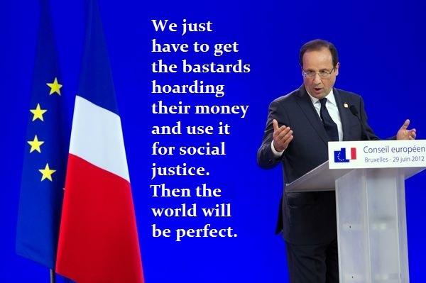 Hollande-Social Justice