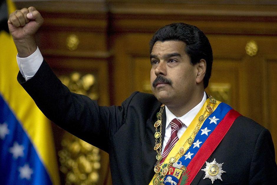 Maduro President Nicolas Maduro