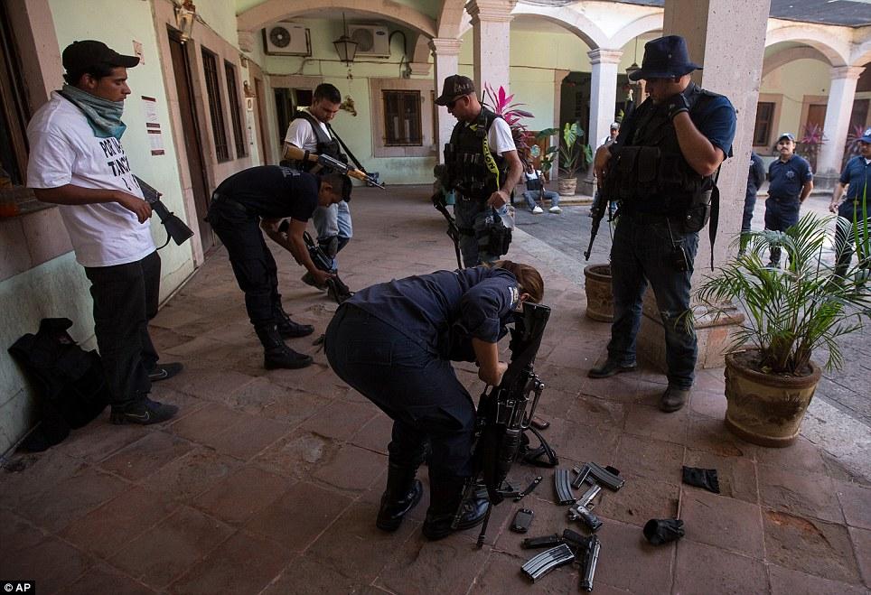 Mexico-Disarm-Police