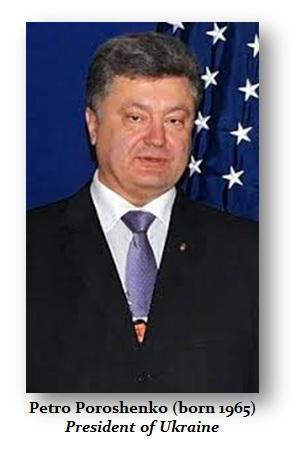 Poroshenko Petro Oleksiyovych
