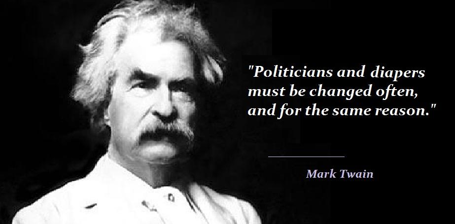 Twain - politicians