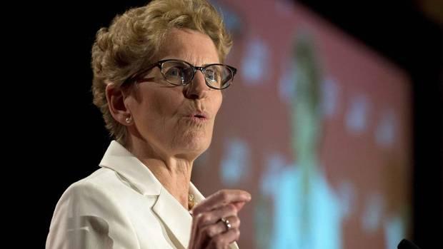 Wynne Hathleen Ontario Premier
