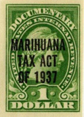 marijuana tax stamp