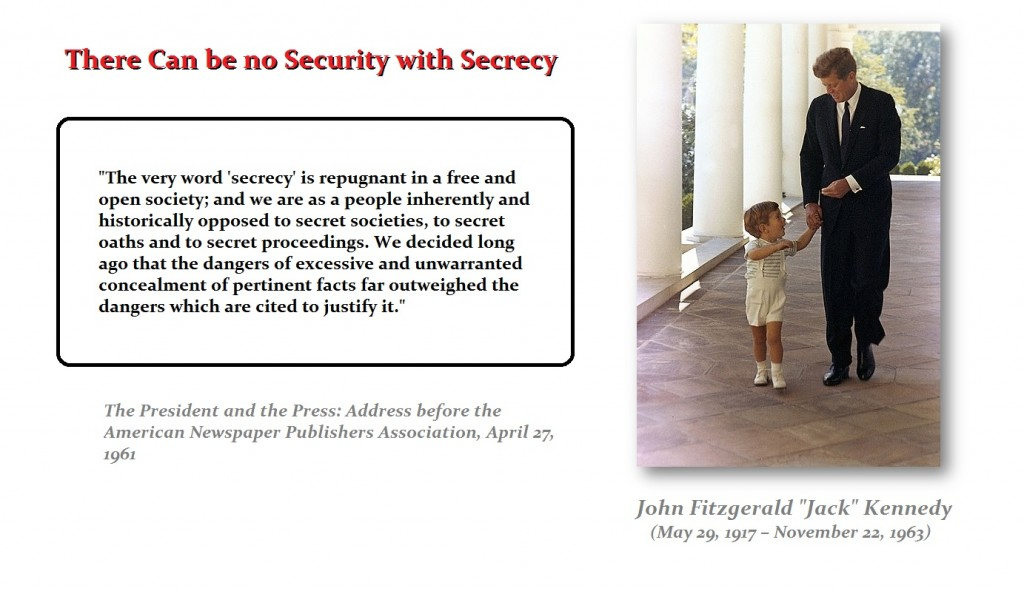 JFK-Secrecy