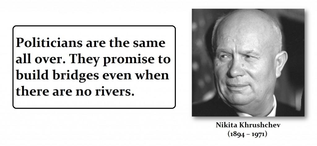 Khruschev-Nikta-Politicians
