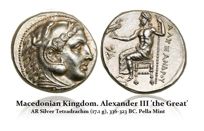 Alex-III Pella Mint Tetradrachm
