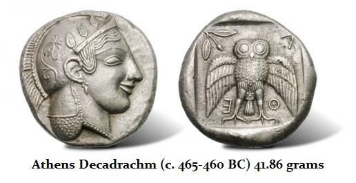Athens Dekadrachm
