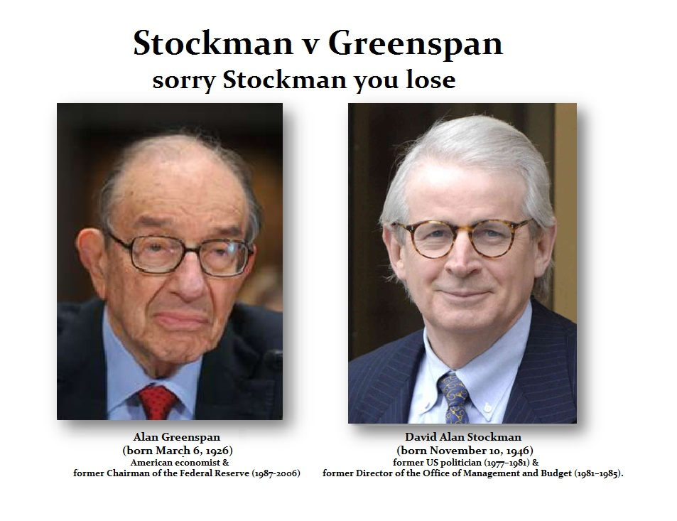 Greenspan-Stockman