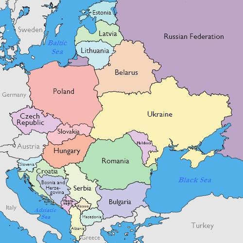 EasternEuropeMap