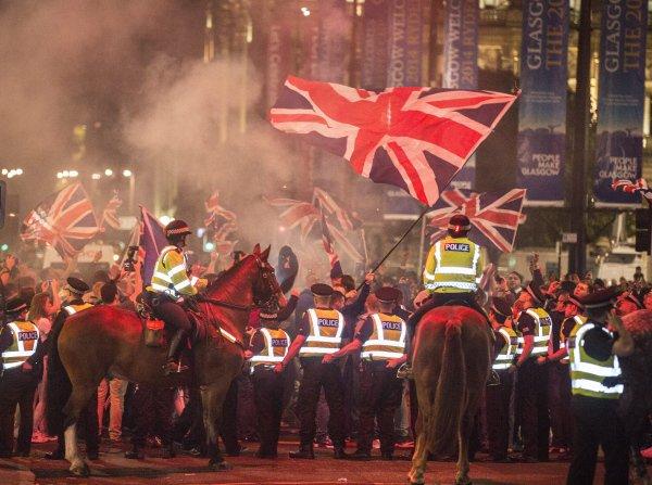 Riots-in-Glasgow