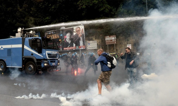 Naples Protest 10-3-2014