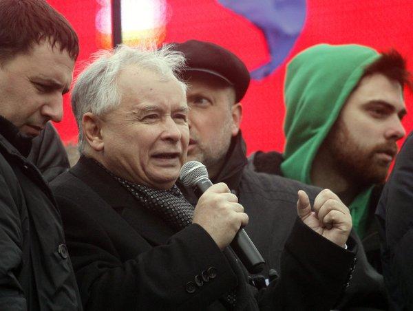 poland former Prime Minister Jaroslaw Kaczynski