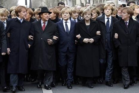 Merkel-March