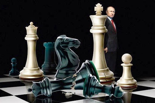 Putin-Master Chess Player