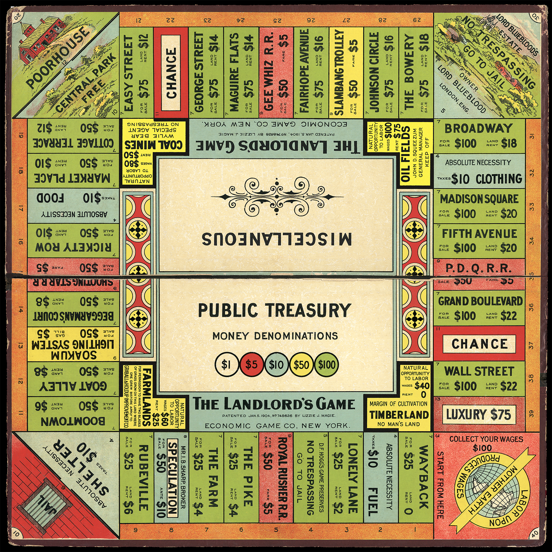 1906_Landlord Game