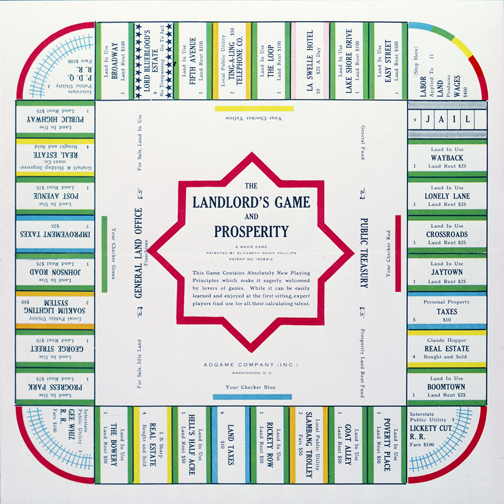 1932-Landlord Game
