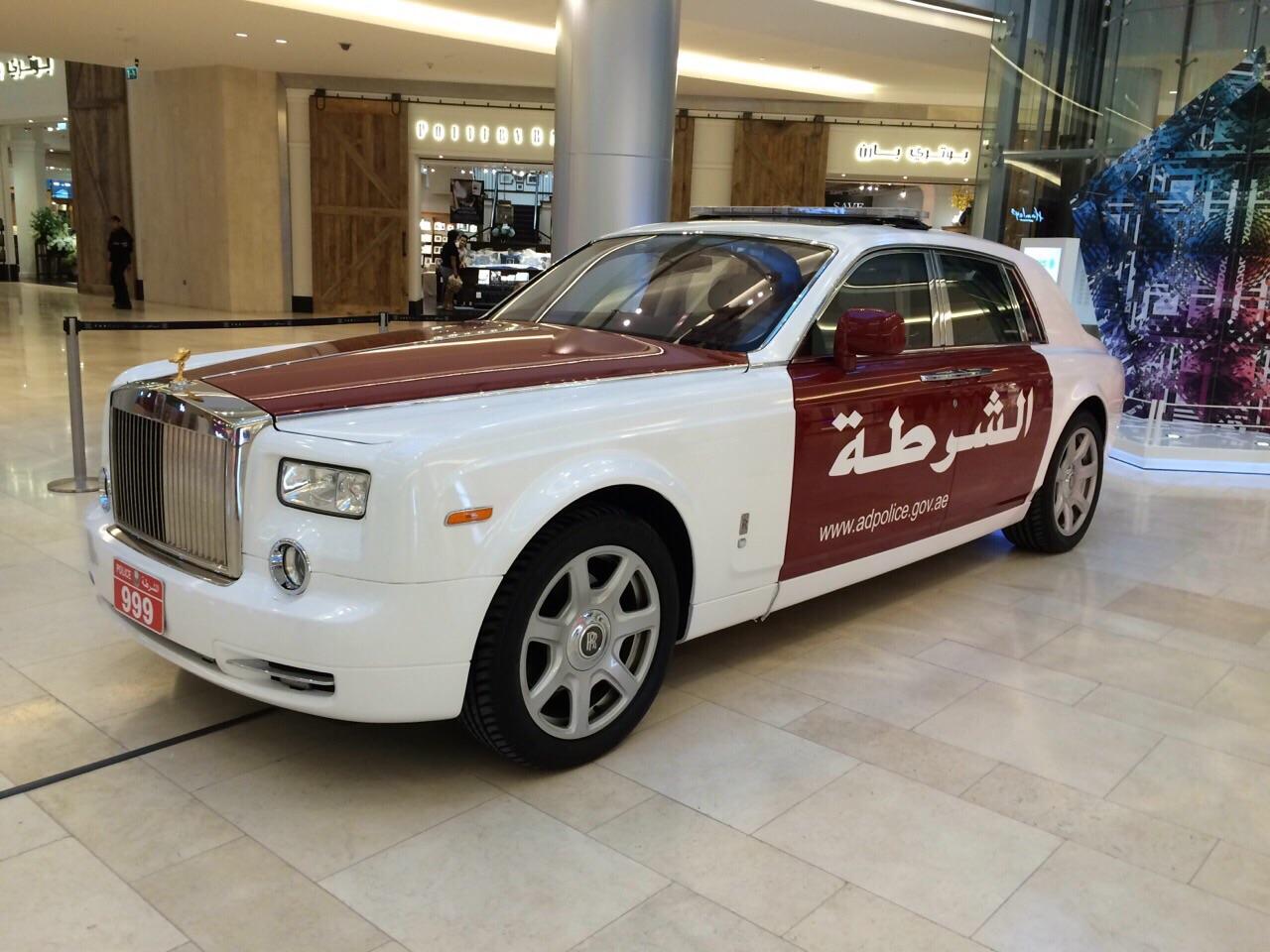 AbuDhabi-Police Cars