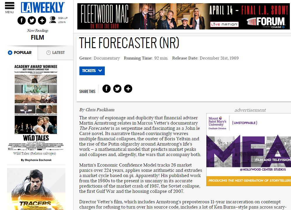 Forecaster-LA-Weekly